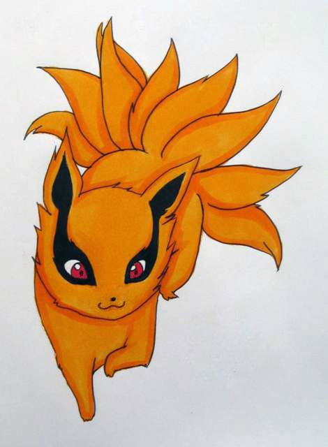Image Result For Cute Chibi Animals Nine Tailed Fox Cute Chibi