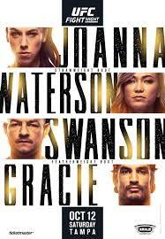 Ufc On Espn 19 Live Stream Free Jedrzejczyk Vs Waterson In 2020 Ufc Ufc Fight Night Fight Night