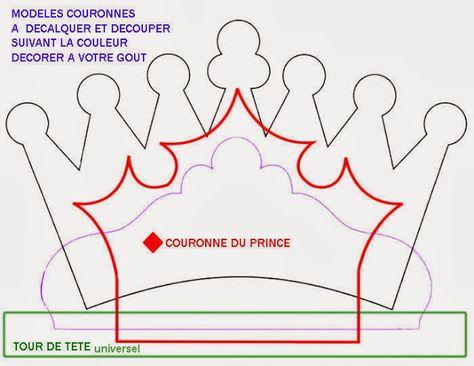Diferentes Plantillas Para Coronas  Princesas