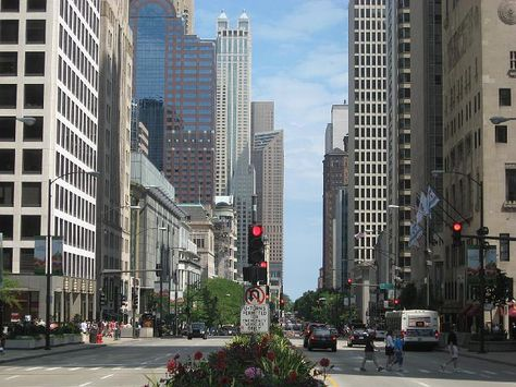 The Miracle Mile. Chicago.