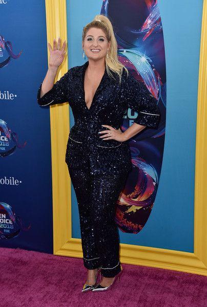 Meghan Trainor attends FOX's Teen Choice Awards.
