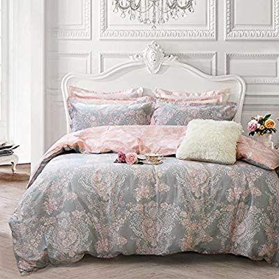 Brandream Blush Pink Girls Bedding, Pink Bedding Full Size