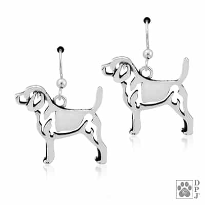 Sterling Silver Beagle Charm Sterling Silver Beagle Pendant
