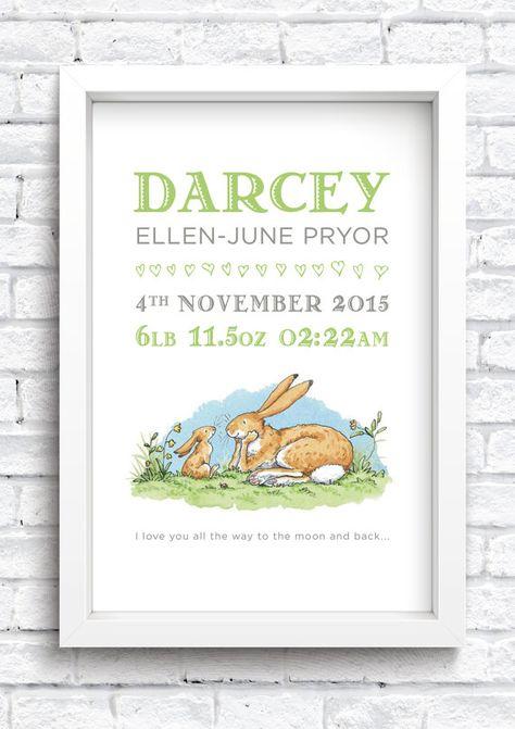 Personalised Winnie The Pooh Sketch Word Art Print Nursery*New baby* Christening