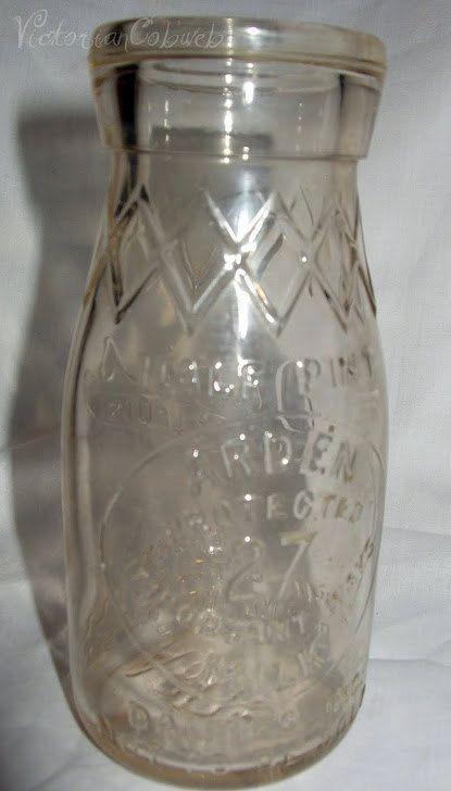 Vintage Milk Bottle Dairies Inc St Louis Arden by VictorianCobweb, $20.00