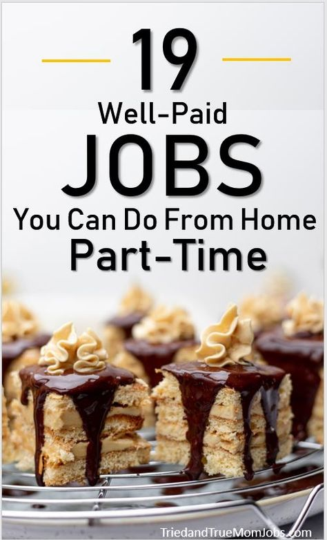19 Jobs You Can Do from Home Part-Time