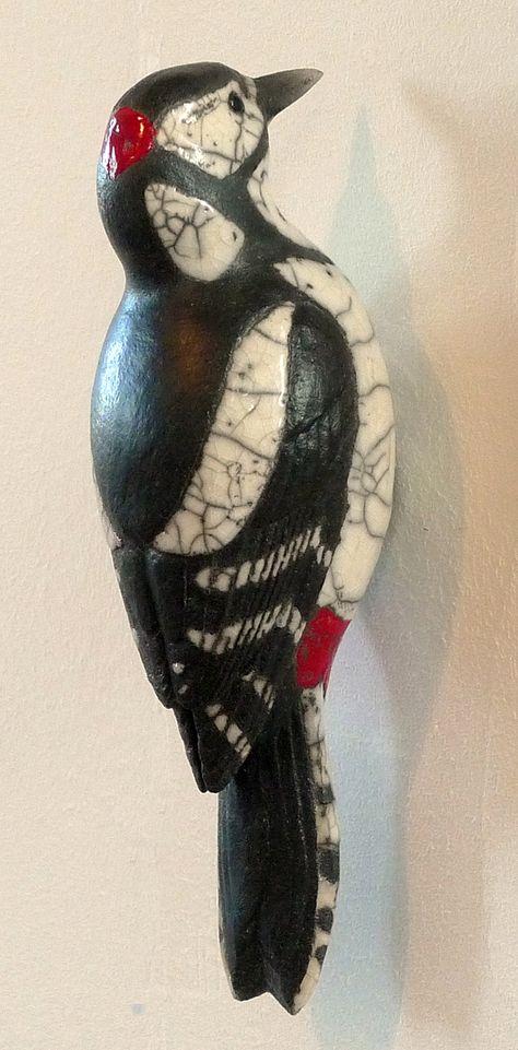 Pic épeiche - Catherine Chaillou, sculpteur céramiste animalier