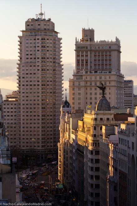Plaza de España. Madrid. Spain