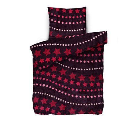 Badizio Classic Bettwasche Sternenhimmel Mikrofaser Plusch Einzelbett 2tlg Qvc De Sternenhimmel Bettwasche Sternen Himmel