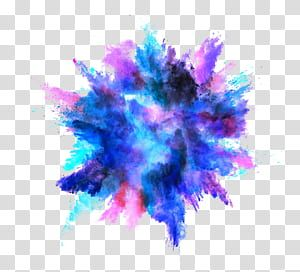 Explosion Color Powder Dust Color Splash Effect Blue Teal Black And Pink Abstract Painting Tra Color Splash Art Color Splash Effect Pink Abstract Painting