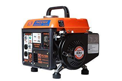 Phoenix Generators Pg1000 Gasoline Generator 1000 Watt Peak Power 2 Stroke Review Generation Power Portable Generators