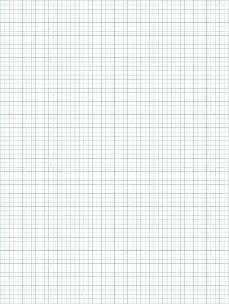 Printable graph paper medium