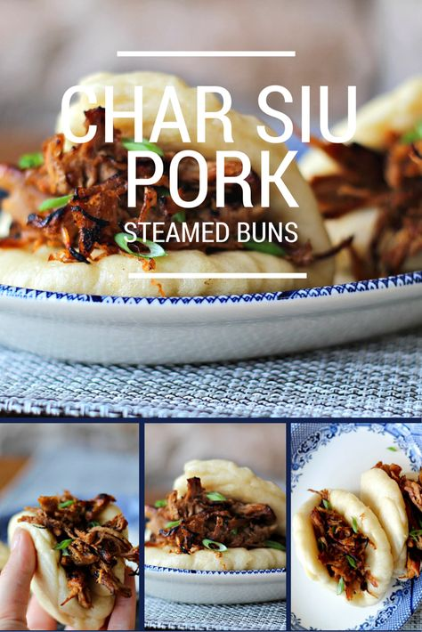 Char siu pork steamed buns. You seriously have to try these.