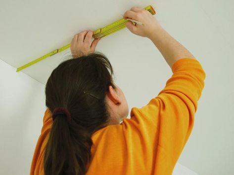 Wie Sie Decken Mit Vliesfaser Tapezieren Bauhaus Hair Straightener Beauty Hair