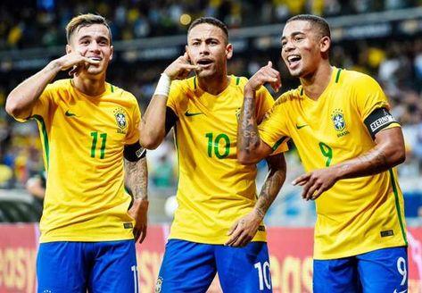 Neymar, Gabriel Jesus, Coutinho, and Brazil's top goalscorers under Tite
