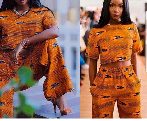 African dress set,African clothing for women,African top and matching pallazo pants,Ankara dress,Ank