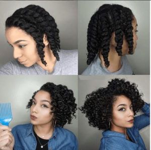 How To Curl Your Hair Without Heat No Heat Curls Styles And Tutorials Natural Hair Twists Natural Hair Twist Out Flat Twist Hairstyles