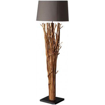 8 joyeux lampadaire bois flotte fly