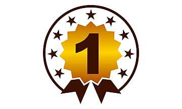 شعار أفضل جودة رقم 1 شعار قالب فارغ Png والمتجهات للتحميل مجانا Best Icons Geometric Background Vector Art