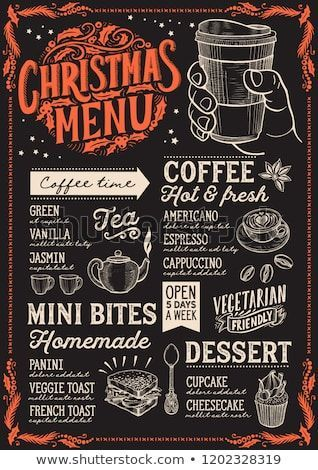 Coffee Brochure Design Google Search Coffee Shop Menu Menu Template Christmas Menu
