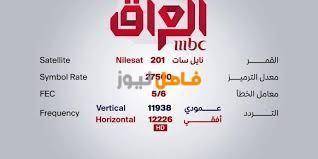 تردد قناة ام بي سي العراق Mbc Iraq على النايل سات 2020 Math Math Equations Symbols