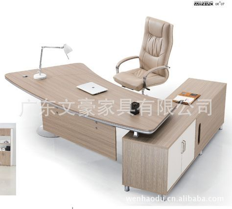 2015 New Arrival Wooden Solid Wood Modern Office Desks Office Furniture Office Desk Office Table With Images Office Furniture Modern Modern Office Desk Office Table Design