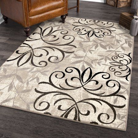 Better Homes And Gardens Iron Fleur Area Rug Or Runner Size 5 X