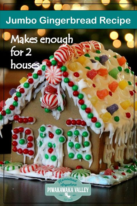 Gingerbread Houses Amazing Gingerbread House Recipe Makes Lots