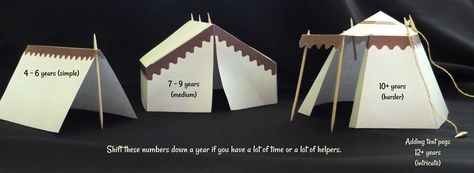 Tents And Barracks Paper Models - by Jesus Without Language - == - Three nice paper models of Barracks/Tents that are perfect for Dioramas, RPG and Wargames. I think they are perfect for Playmobil Roman and Medieval miniatures too.