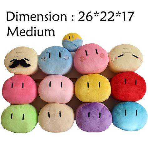 1PC NEW Clannad Dango Family Plush Doll Cushion Pillow Cosplay Toy gift M size