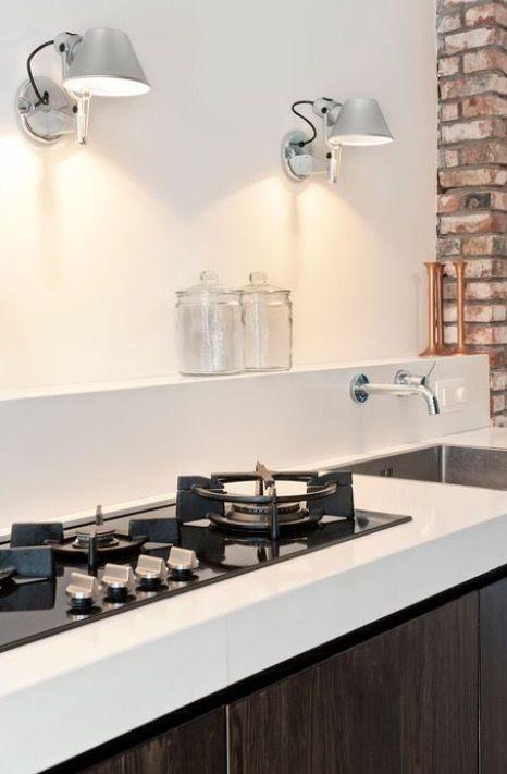 Super Verlichting boven aanrecht, keuken. | Keuken interieur, Keukens KP-56