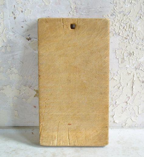Antique Handmade Hemlock Wood CuttingBreadCheese Board Farmhouse Style