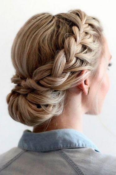 Make Up Frisuren Fur Hochzeiten Gast Die 60 Schonsten Braut Fri Braut D Hochsteckfrisuren Lange Haare Hochsteckfrisur Frisur Hochgesteckt