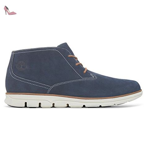 bleu chaussures timberland taille marine bradstreet homme leather chukka 5 39 rxhsdtQC