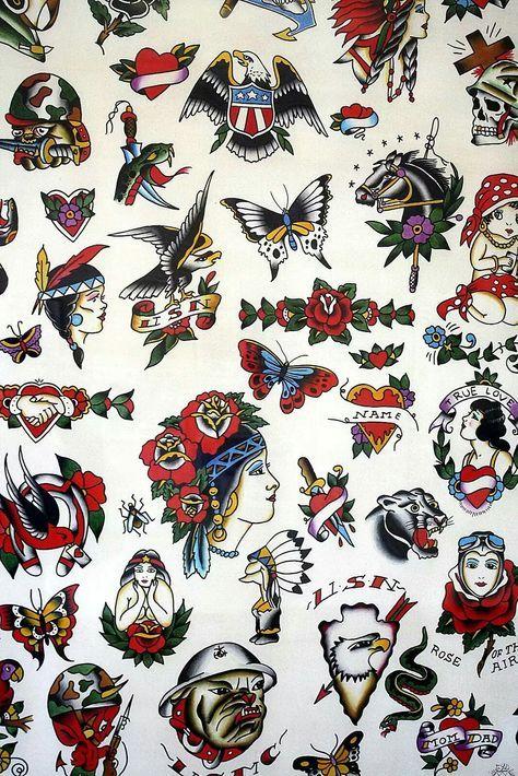 Super Tattoo Old School Traditional Ideas Flash Art Ideas Old School Tattoo Designs Traditional Tattoo Art Old School Tattoo