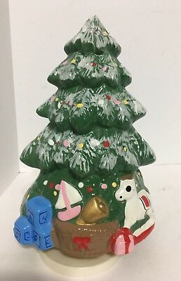 Vintage Christmas Tree Ceramic Windup Music Box White Christmas Euc Ebay Vintage Christmas Tree Vintage Christmas White Christmas