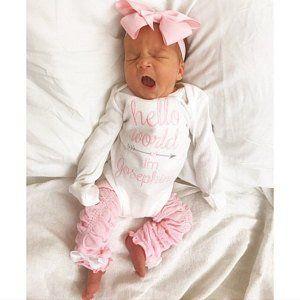 Baby Girl Newborn Girl Newborn Outfit Baby Girl Coming Home Outfit Newborn Girl Outfit Baby Girl Coming Home Outfit Winter