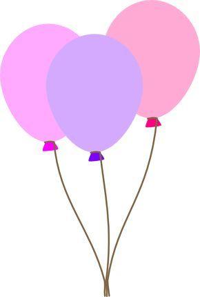 Balloon pastel. Pretty balloons party printables