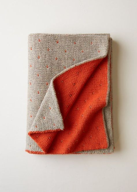 Double Knit Blanket | Purl Soho - Free pattern  I'd love to