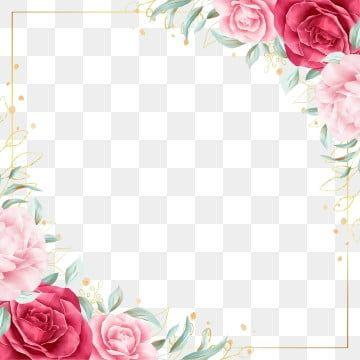 Flower Frame Flower Frame Png Transparent Clipart Image And Psd File For Free Download Flower Frame Flower Frame Png Floral