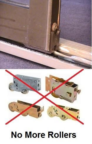 Fix A Sliding Door Without Replacing The Rollers With Replacement