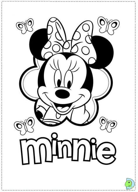 Tolle Baby Minnie Malvorlagen Fotos - Ideen färben - blsbooks.com