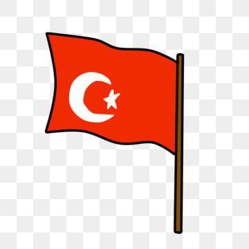 Minimalistic Cartoon Turkish Flag Minimalism Moon Flag Png Transparent Clipart Image And Psd File For Free Download Turkish Flag Cartoon Clip Art Flag Decor