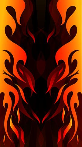 Hotrod Fire Abstract Wallpaper Backgrounds Abstract Wallpaper Flame Art
