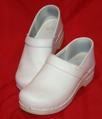 Details about Dansko White Leather