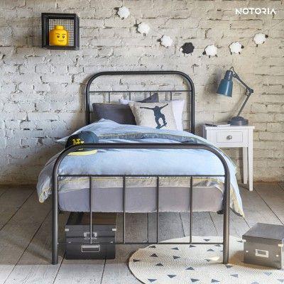 Avos Eisenbett Metallbett 120x200 Cm Im Retro Stil Metallbett 120x200 Eisenbett Bett