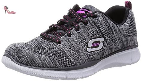 Skechers AppealHi Shine, Sneakers Basses Fille - Violet - Purple (Purple/Pink), 9.5 Child UK (27 EU)
