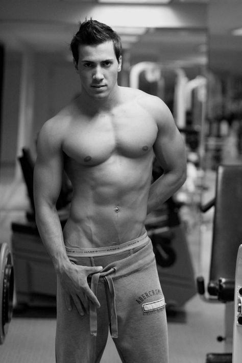 #muscles in the gym