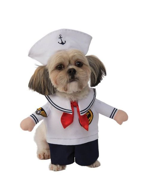 Walking Sailor Costume For Pet Pet Costumes Pet Halloween