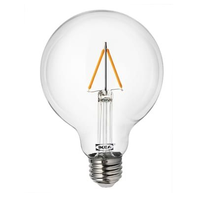 Ryet Led Bulb E26 470 Lumen Globe Clear In 2020 With Images Pendant Lamp Shade Led Bulb Led Light Bulb